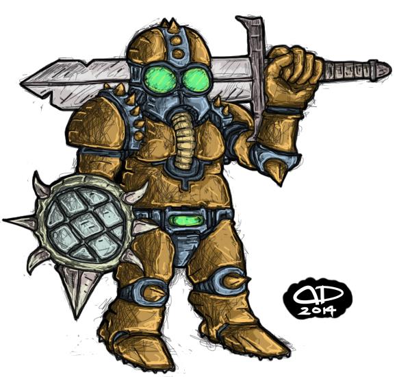 Gnome Warrior